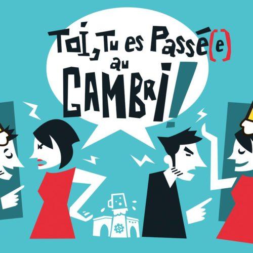 Toi, tu es passé(e) au Gambri ! image pour le Gambrinus à Mulhouse par Hugues Baum
