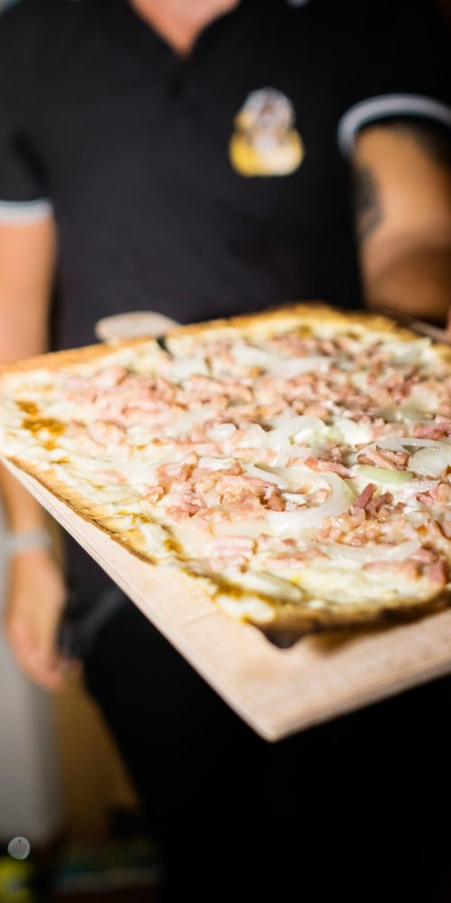 Photo du Gambrinus à Mulhouse : bar, brasserie à bière (tarte flambée)